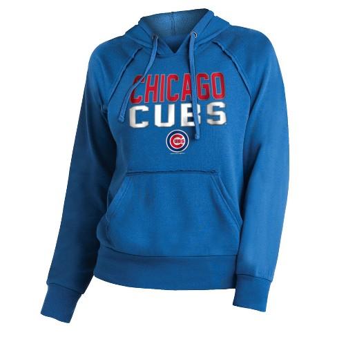 super popular 230b2 3da31 Chicago Cubs Women's 7th Inning Stretch Hoodie L