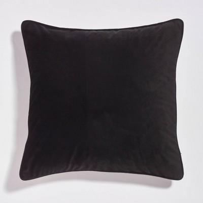 "20""x20"" Velvet Reversible Throw Pillow - Sure Fit"