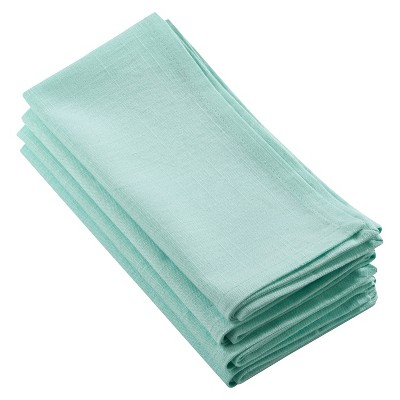4pk Green Juliana Design Napkin 20  - Saro Lifestyle®