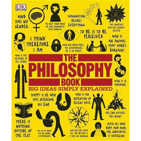 The Philosophy Book - (Big Ideas Simply Explained) (Hardcover) - image 1 of 1