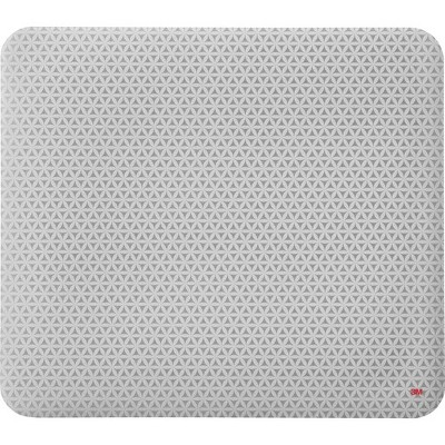 "3M Precise Mouse Pad with Gel Wrist Rest - Gray Bitmap - 8"" Dimension - Foam"