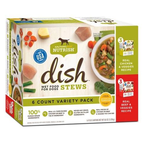 Rachael Ray Nutrish - Stews - 6ct Variety Pack - Wet Dog Food - 66oz - image 1 of 4