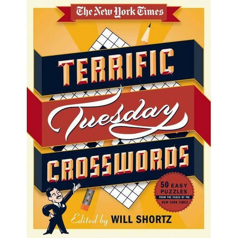 The New York Times Terrific Tuesday Crosswords - (Spiral_bound) - image 1 of 1
