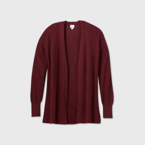 Women's Essential Open-Front Cardigan - A New Day™  - image 1 of 2