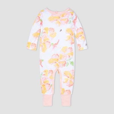Burt's Bees Baby® Baby Girls' Sunburst Floral Jumpsuit - Pink