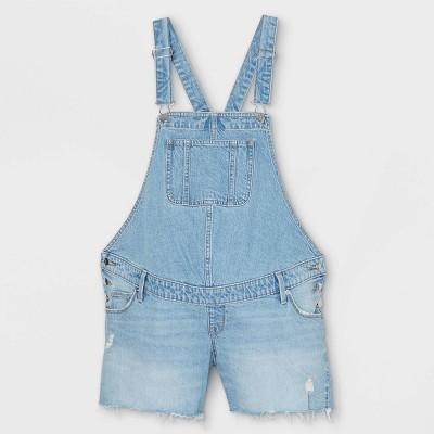 Shortall Maternity Jean Shorts - Isabel Maternity by Ingrid & Isabel™ Light Wash