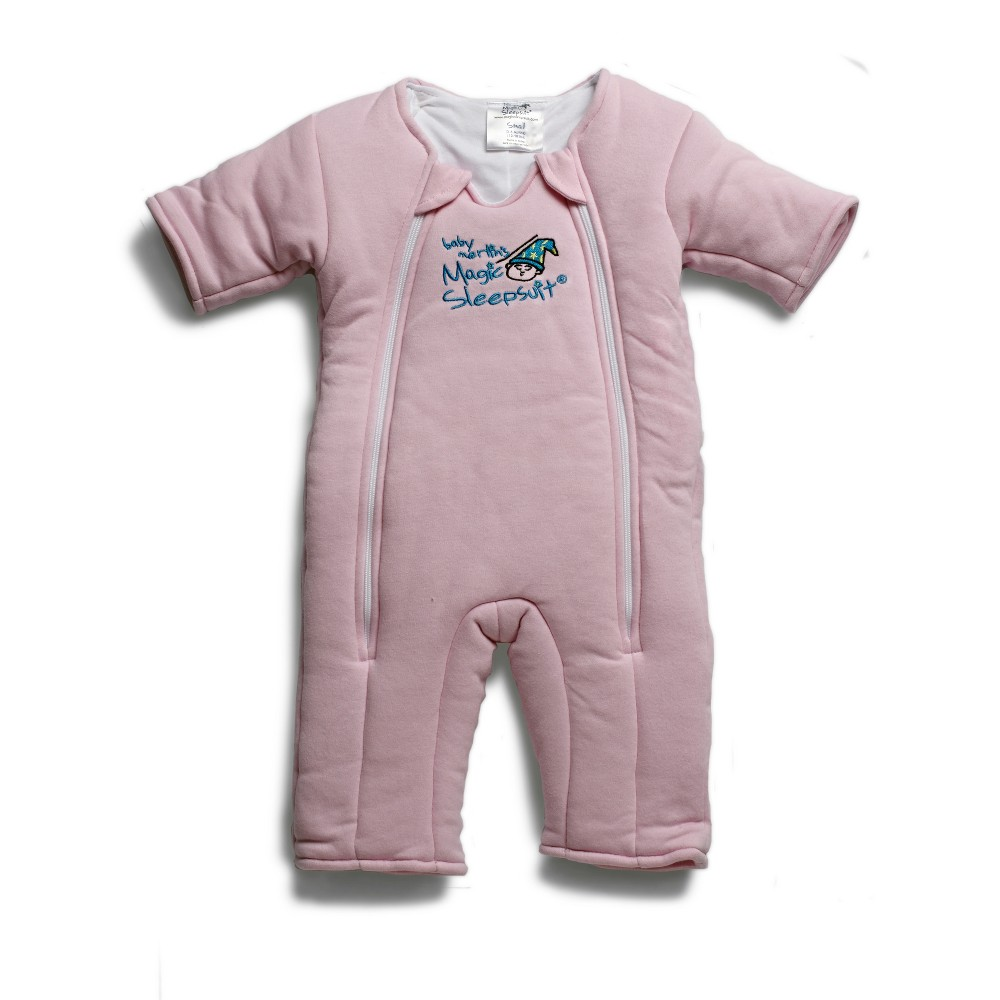 Image of Baby Merlin's Magic Sleepsuit 3-6 months - Pink