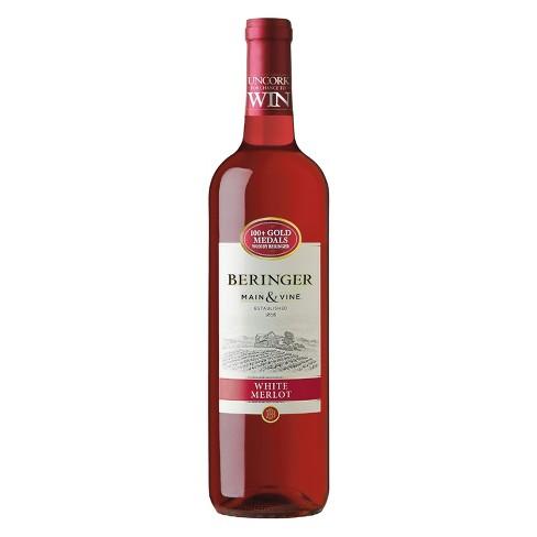 Beringer White Merlot Red Wine -750ml Bottle - image 1 of 3