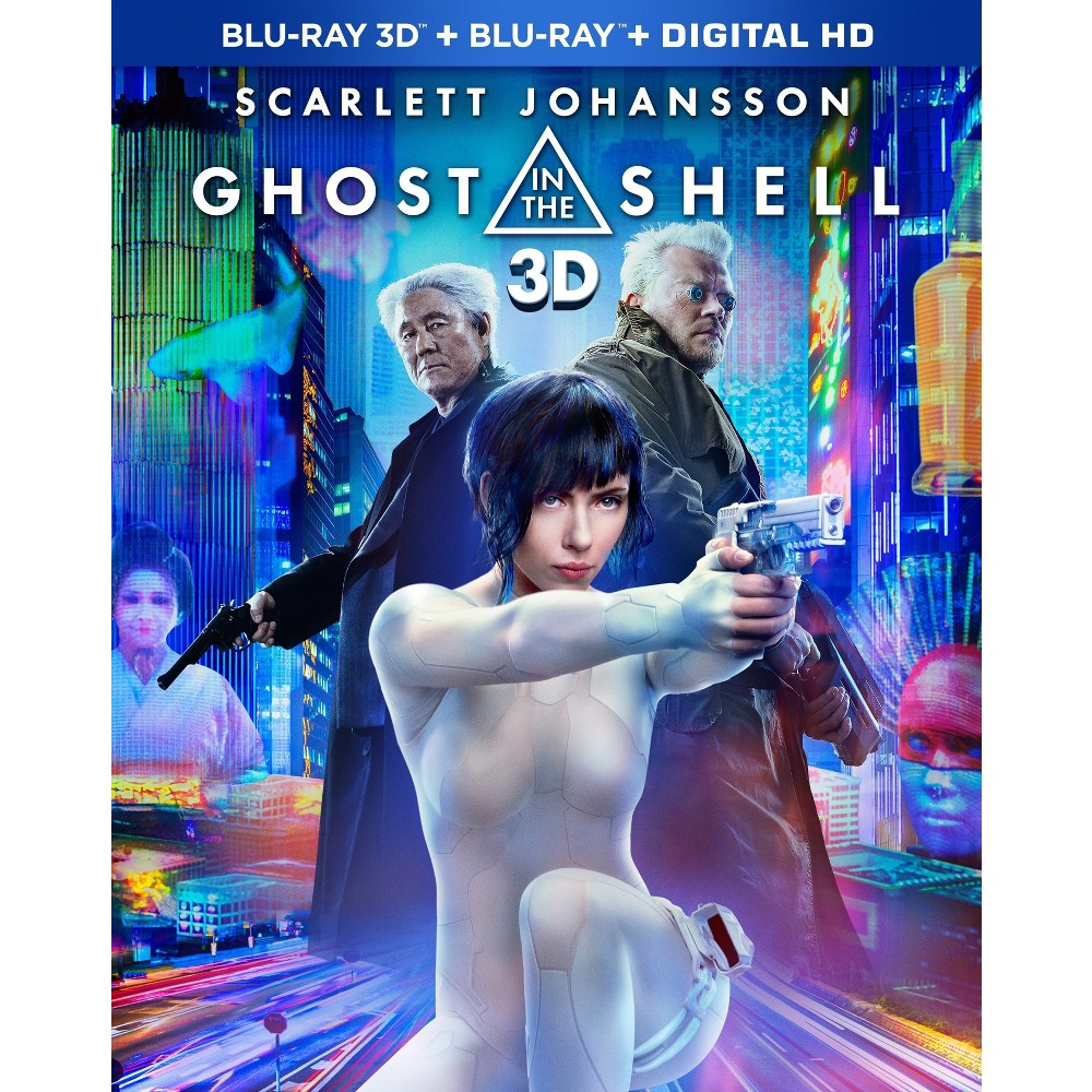 Ghost in the Shell (3D + Blu-ray + Dvd + Digital HD)