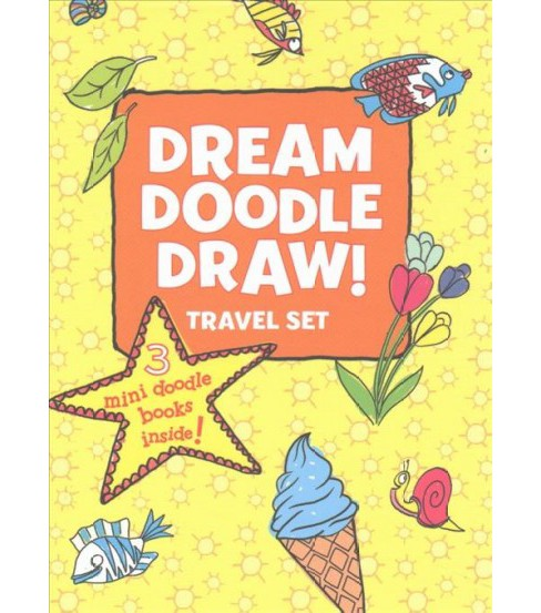 Dream Doodle Draw! Travel Set (Paperback) - image 1 of 1