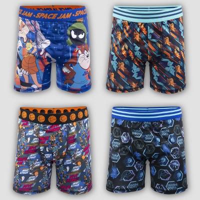Boys' Space Jam 4pk Underwear