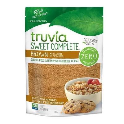 Truvia Sweet Complete Brown Sweetener - 14oz