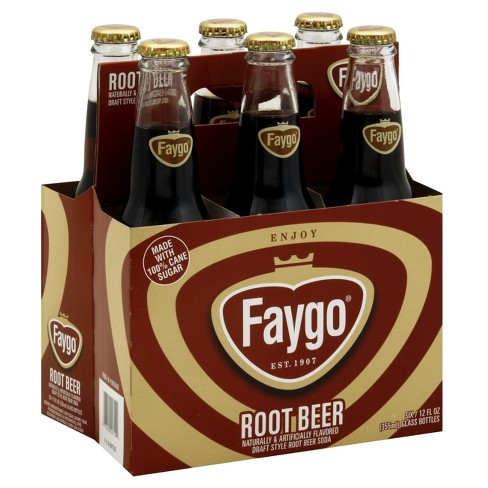 Faygo Root Beer - 6pk/12 fl oz Glass Bottles - image 1 of 3