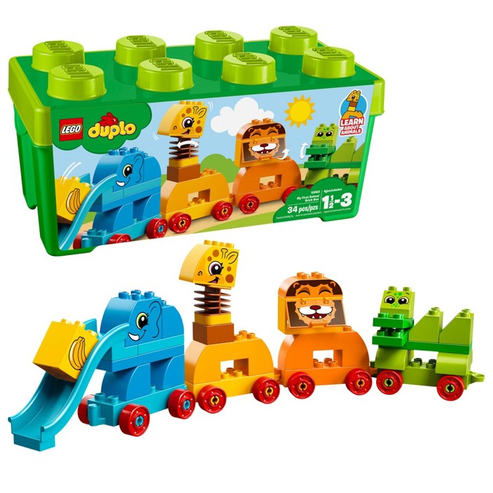 LEGO My First My First Animal Brick Box 10863 - image 1 of 5