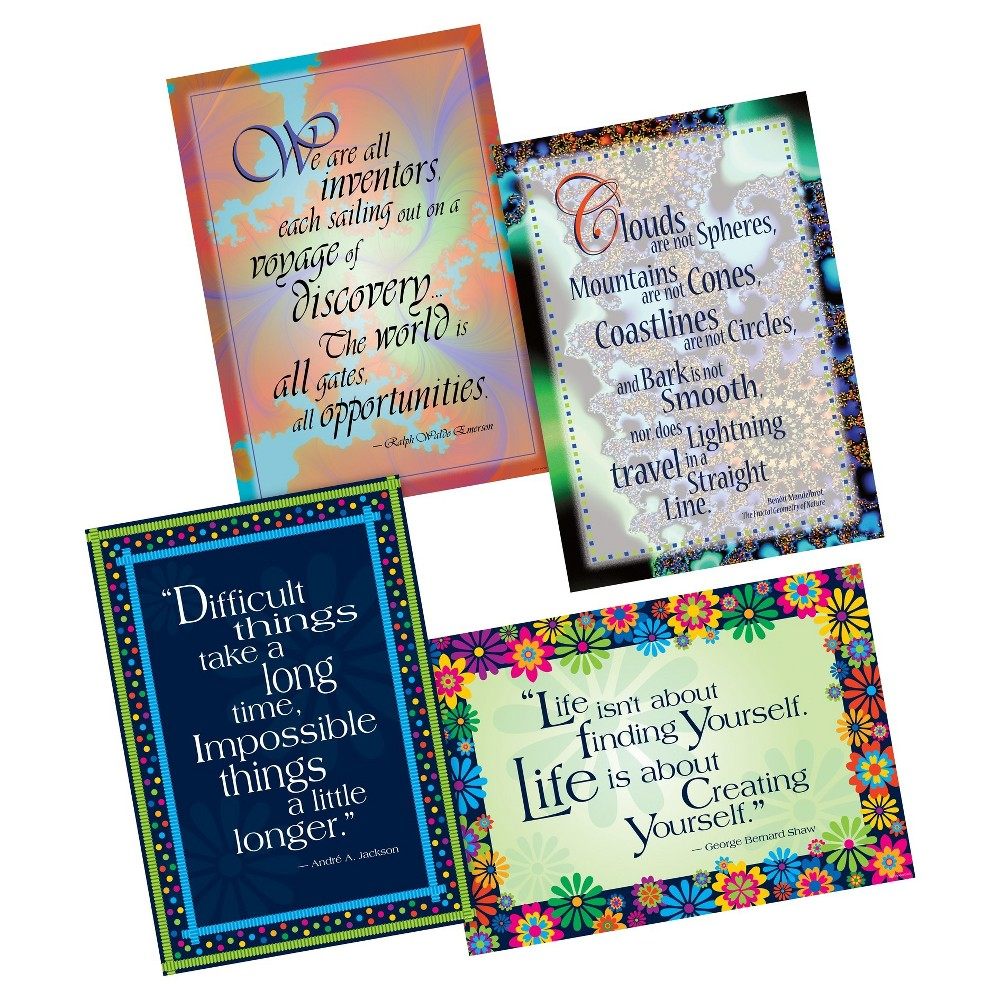 Image of Barker Creek Classroom Poster Set 4ct - Unlimited Possibilities