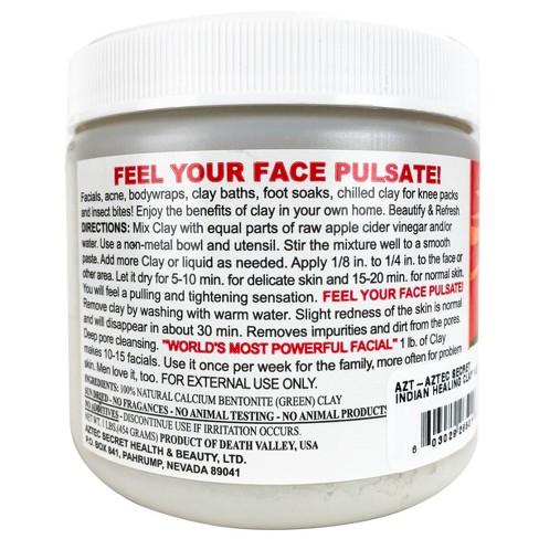 Aztec Secret Indian Healing Clay Facial Treatment - 15 5oz