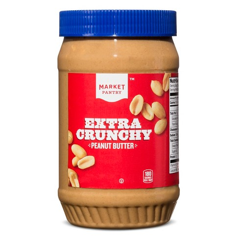 Extra Crunchy Peanut Butter - 40oz - Market Pantry™ - image 1 of 2