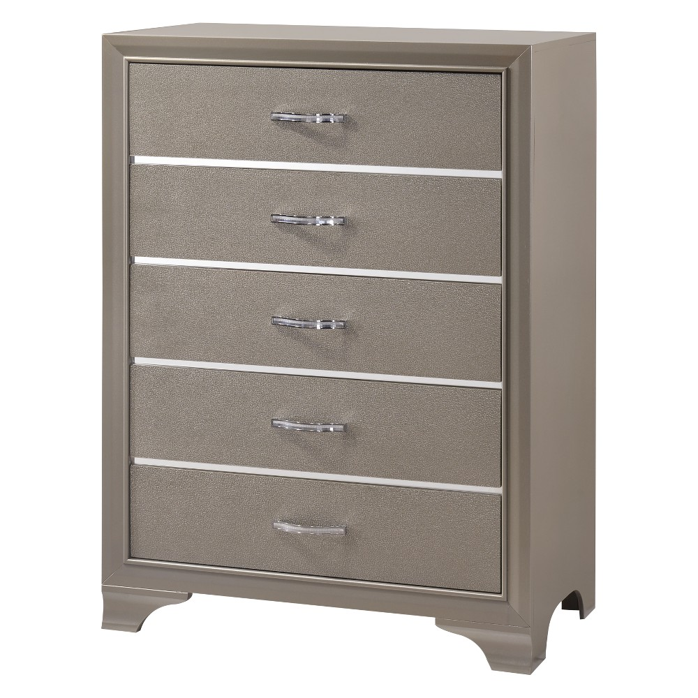 Image of Coco Chest Platinum/Cream - Home Source Industries