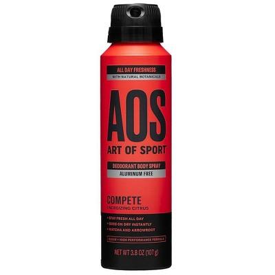 Art of Sport Men's Body Spray Compete - 3.5 fl oz