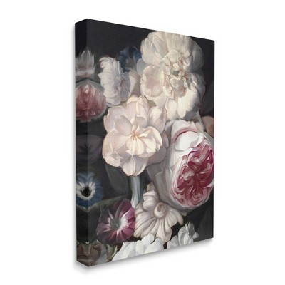 Stupell Industries Blushing Floral Petals Enchanting Pink White Flowers