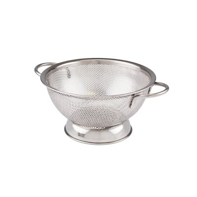 Tovolo Stainless Steel Perforated Colander - Small (1.5qt)Silver