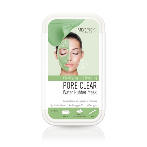 MD's Pick Water Rubber Mask - Pore Clear - 1ct - image 1 of 2