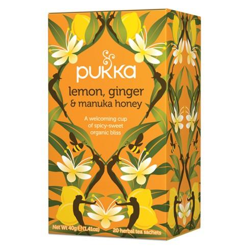 Pukka Lemon, Ginger & Manuka Honey Tea Bags - 20ct - image 1 of 4
