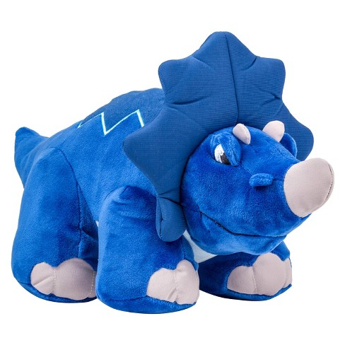 Thunder Stompers Crash the Triceratops Plush Dinosaur - image 1 of 2