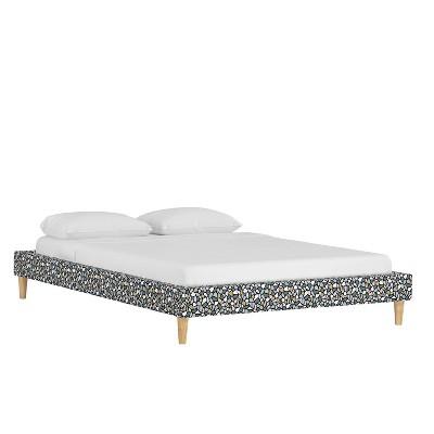 Platform Bed Bold Terrazzo Lavender - Cloth & Company