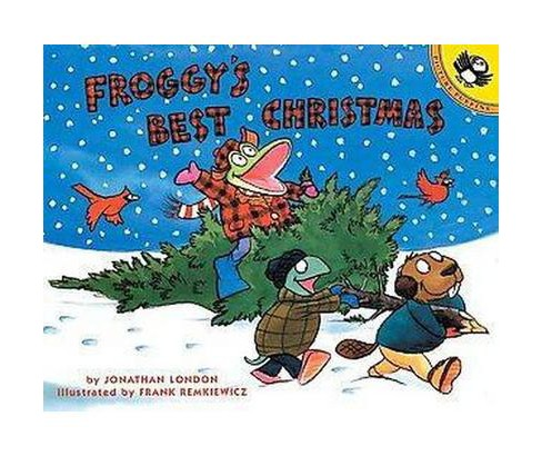 Froggy's Best Christmas (Reprint) (Paperback) (Jonathan London) - image 1 of 1