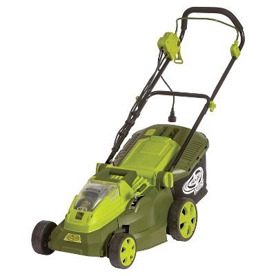 Sun Joe® 16 In 40V 4.0 Ah Hybrid Cordless or Electric Lawn Mower