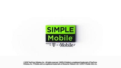 Simple Mobile Prepaid LG Rebel 4 LTE (16GB) - Black