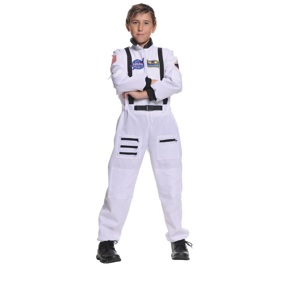 Image of Halloween Boys' Astronaut Halloweeen Costume L, Boy's, Size: Large, MultiColored