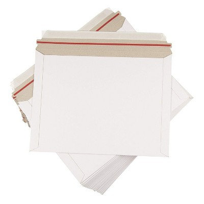 Rigid Photo Document Mailers Stayflat w// Tear Tab 28 pt Choose Your Color /& Size