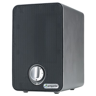 Germ Guardian AC4020 3-in-1 True HEPA Air Purifier System with UV Sanitizer and Odor Reduction, 9  Table Top Mini Tower