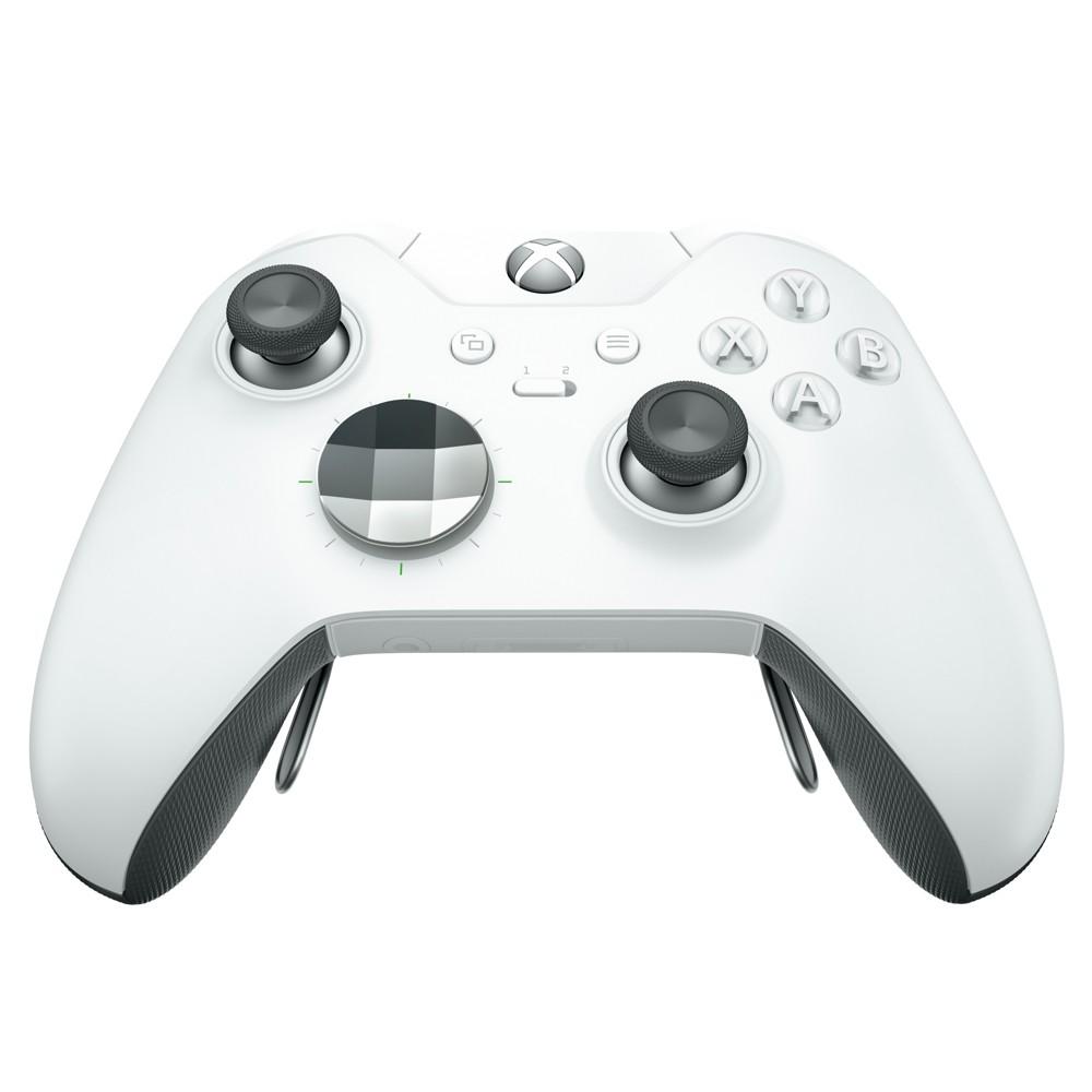 Xbox One Wireless Controller - Elite White, Bleach White