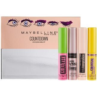 Maybelline Countdown Mini Mascara Kit - 4ct