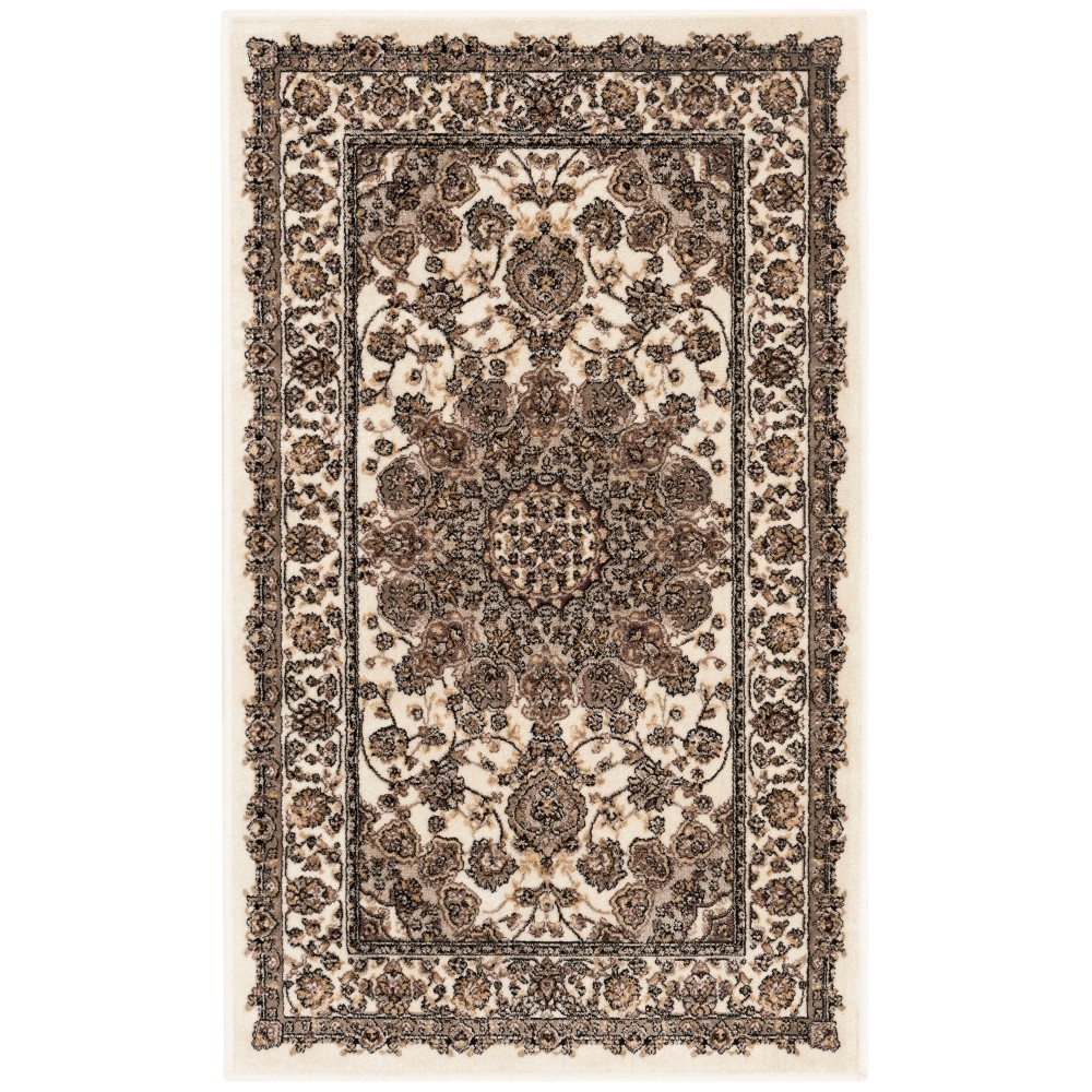Loomed Medallion Accent Rug Ivory
