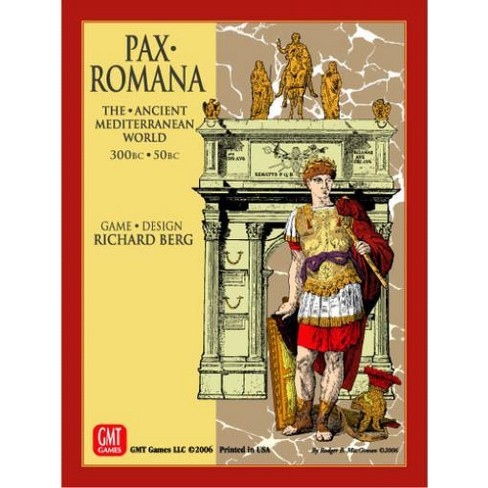 Pax Romana 300 BC - 50 BC (2nd Edition w/Mounted Map) Board Game - image 1 of 1