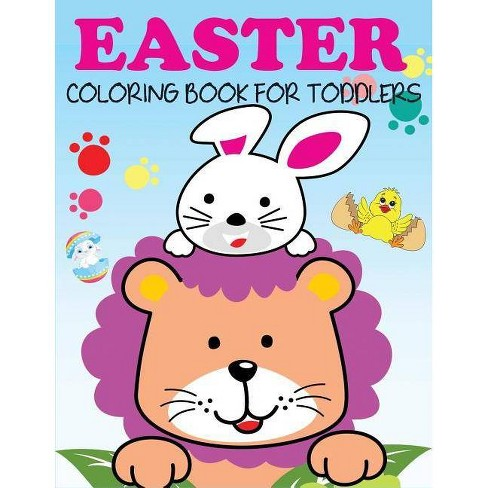 Easter Coloring Book for Toddlers - by  Blue Wave Press (Paperback) - image 1 of 1