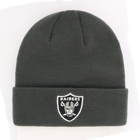 ccaef9091c4 NFL Oakland Raiders Cuff Knit Beanie By Fan Favorite   Target