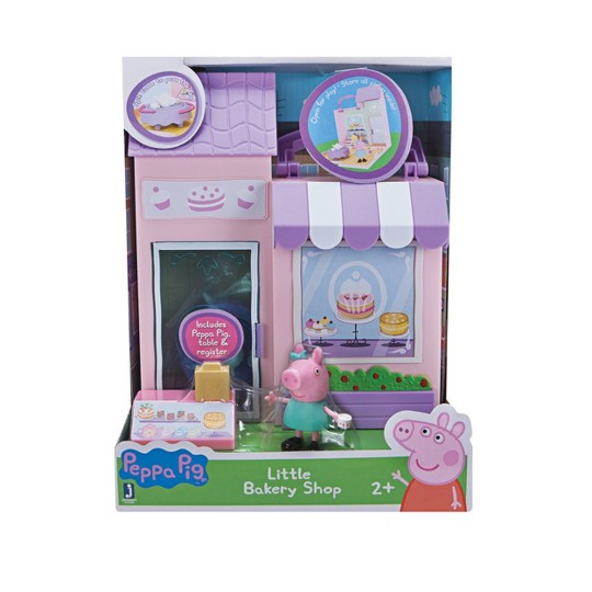 Peppa Pig Bakery Shop, mini figures image number null