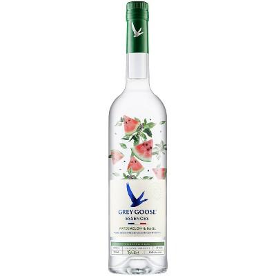 Grey Goose Essences Watermelon & Basil Flavored Vodka - 750ml Bottle