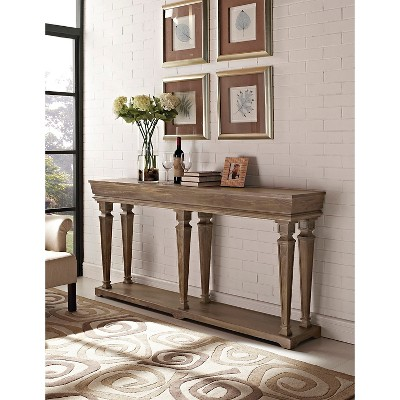 Joaquin Console Table Reclaimed Wood   Powell Company : Target