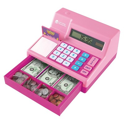 Learning Resources Calculator Cash Register - Pink