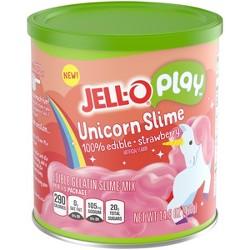 Jell-O Play Unicorn Slime Strawberry - 14.8oz
