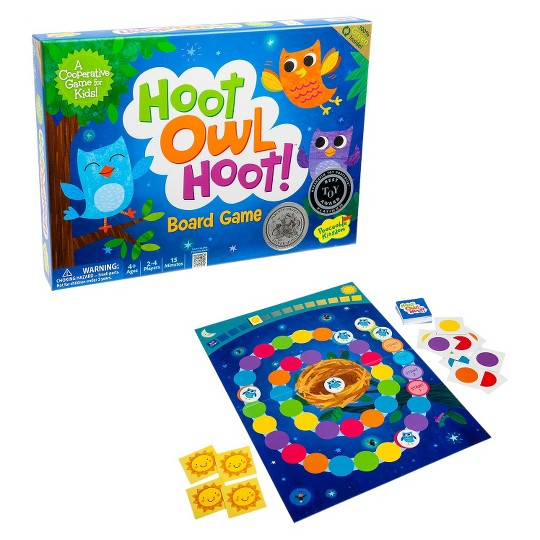 Hoot Owl Hoot! Board Game, Kids Unisex image number null