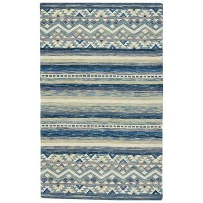 Capel Shakta-Kelim Hand Tufted Area Rug