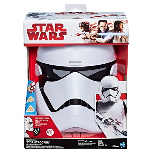 Star Wars  The Last Jedi First Order Stormtrooper Electronic Mask   Target 6007a3872c02