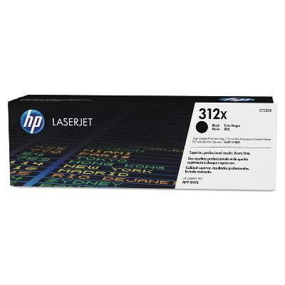 HP Inc. HP 312X (CF380X-D) 2-pack High Yield Black Original LaserJet Toner Cartridges CF380XD